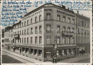 Basel BS Hotel Rheinfelderhof / Basel /Bz. Basel Stadt City