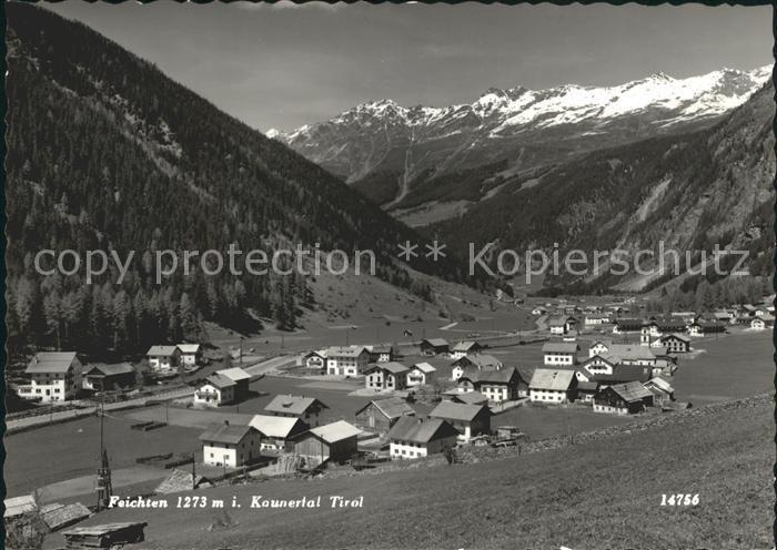 Feichten Kaunertal  / Tirol /