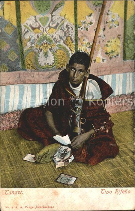 Tanger Tangier Tangiers Tipo Rifeno / Marokko /
