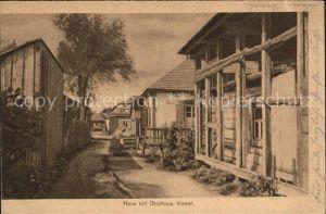 Kowel Ukraine Haus mit ueberhaus / Ukraine /