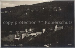 Aarburg AG Festung mit Hoefli / Aarburg /Bz. Zofingen
