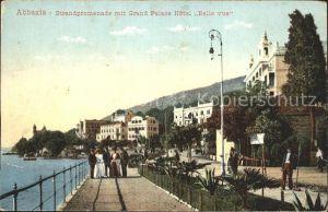 Abbazia Istrien Strandpromenade Grand Palace Hotel Belle vue / Seebad Kvarner Bucht /Primorje Gorski kotar