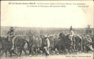 Chalons-sur-Marne Ardenne Les prisonniers de la Bataille de Champagne / Chalons en Champagne /Marne