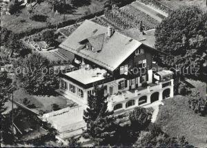 Hondrich Spiez Ferienheim Freyberg Fliegeraufnahme / Hondrich /Bz. Niedersimmental