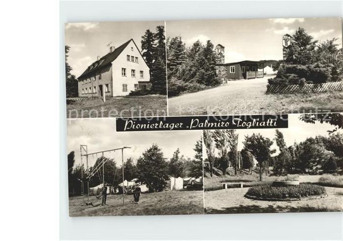 Einsiedel Erzgebirge Pionierlager Palmiro Togliatti Kat. Marienberg