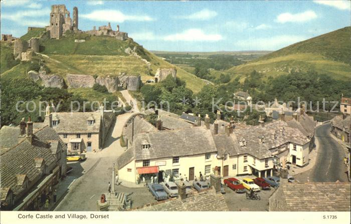 Corfe Dorset Corfe Castle and Village / Purbeck /Dorset CC