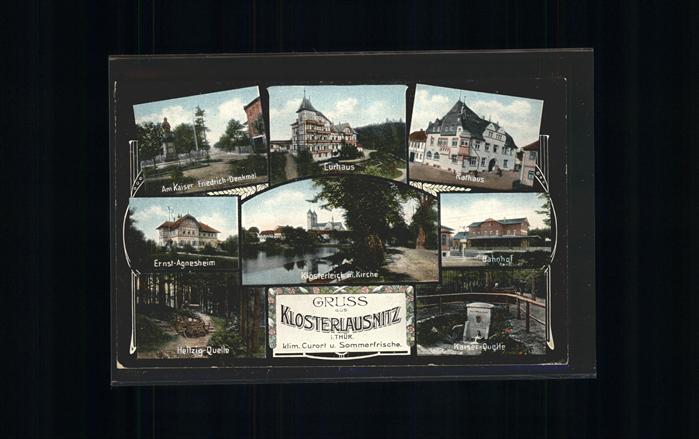 Klosterlausnitz Rathaus u.Bahnhof