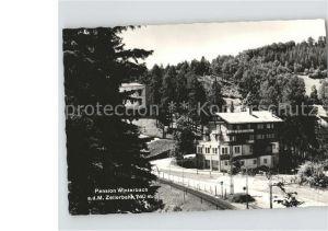 Mariazellerbahn  Pension Winterbach Kat. St. Poelten