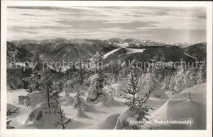 Seewiesen Buergeralpe Hochschwabaussicht Fernblick Alpenpanorama Kat. Turnau Steiermark