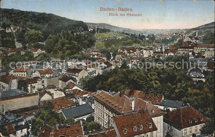 Baden Baden Rheintal Stempel Baden Badener Rennen  Kat. Baden Baden