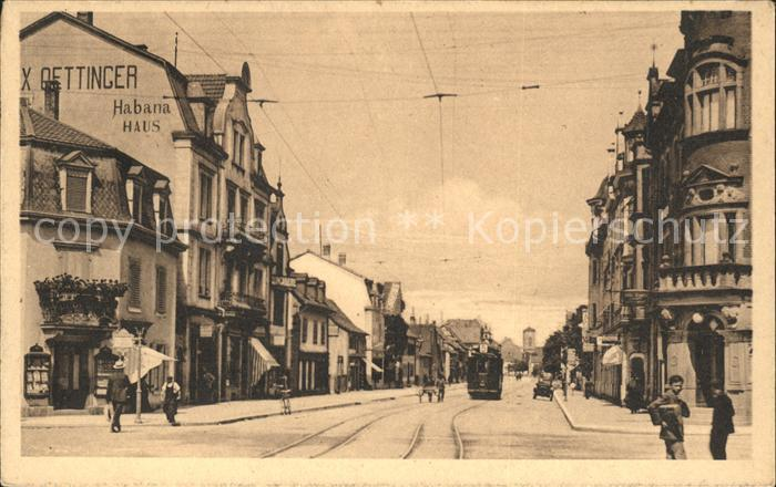 St Loup Pompaples Rue de Mulhouse Strassenbahn Kat. Pompaples
