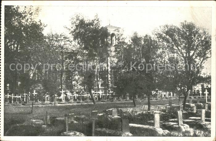 Brest Litowsk Friedhof Kat. Russische Foederation