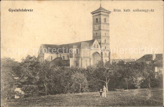 Gyulafehervar Kirche Kat. Ungarn