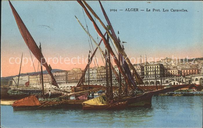 Alger Algerien Le Port Les Caravelles / Algier Algerien /