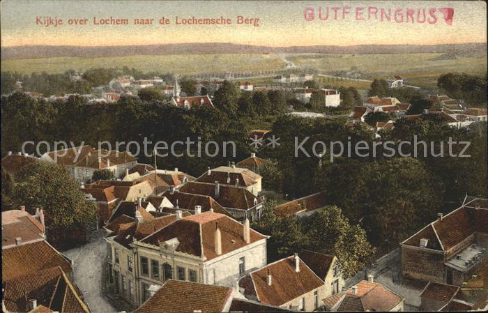 Lochem Kijkje over Lochem naar de Lochemsche Berg Kat. Lochem