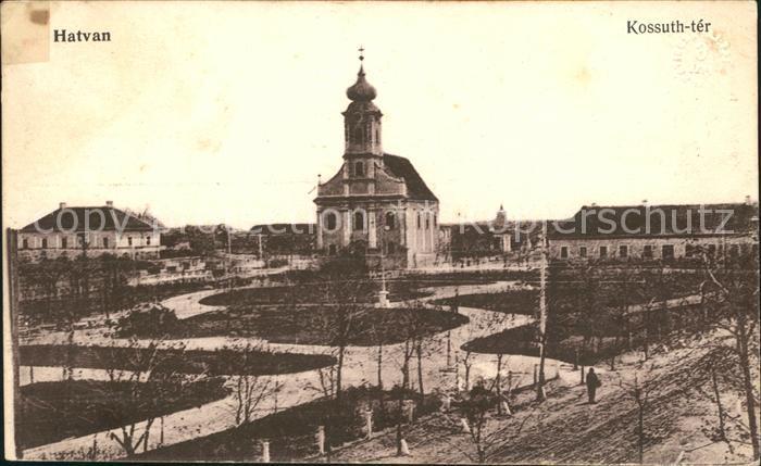 Hatvan Kossuth  ter Kat. Ungarn