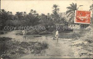 Gabes Oued Oasis Kat. Tunesien