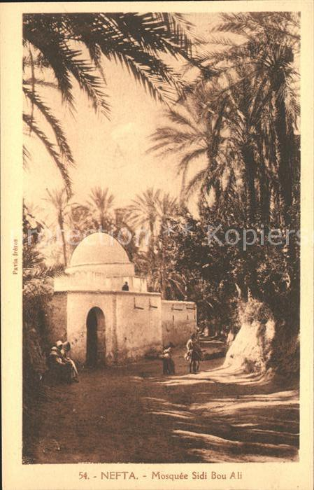 Nefta Mosquee Sidi Bou Ali  Kat. Tunesien