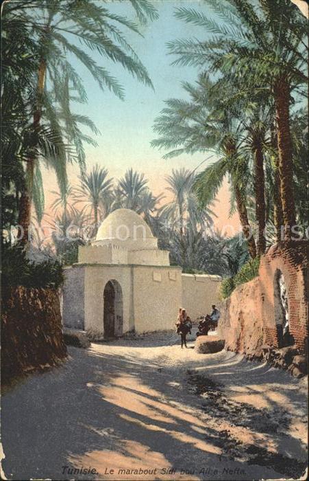 Nefta Marabout Sidi bou Ali Kat. Tunesien