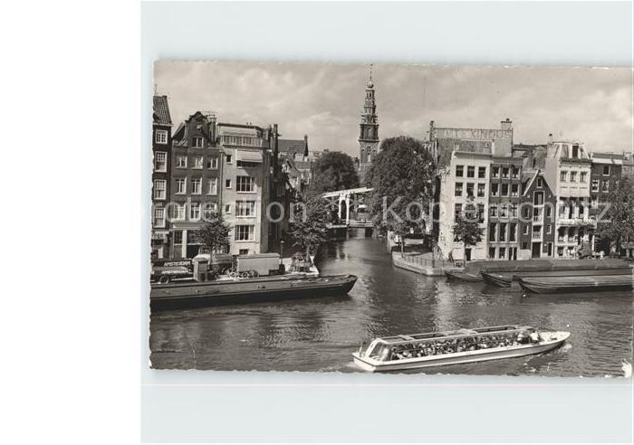Amsterdam Niederlande Binnenamstel Kat. Amsterdam