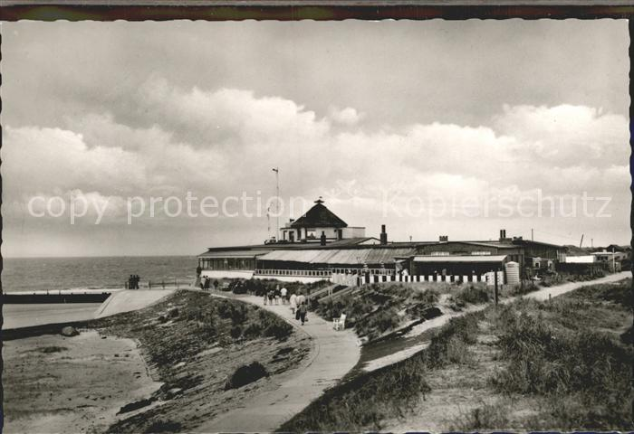 Borkum Nordseebad Strandcafe Heimliche Liebe