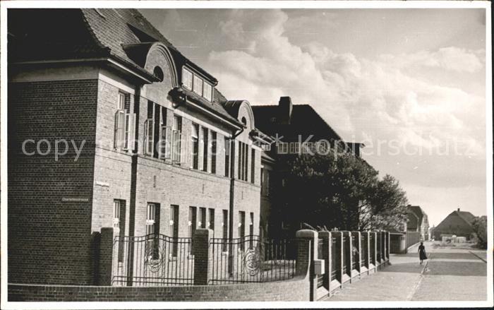 2946 WANGEROOGE Schullandheim Haus am Meer Luftaufnahme