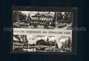 Steinhuder Meer Schloss Hagenburg Kat. Wunstorf