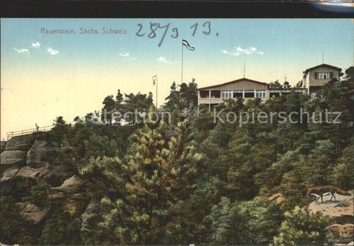 Rauenstein Saechsische Schweiz  / Struppen /Saechsische Schweiz-Osterzgebirge LKR