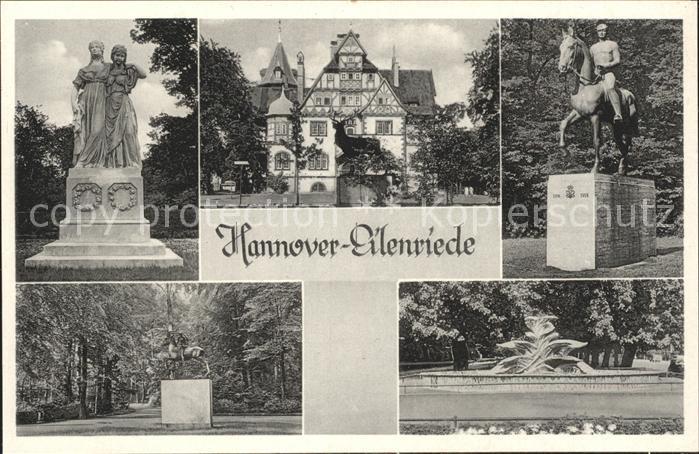 Eilenriede Denkmal Kat. Hannover