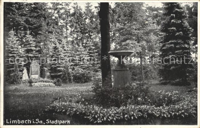 dp11569 Limbach Sachsen Stadtpark Kat. Limbach Oberfrohna