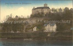 Zschopautal Burg Scharfenstein Kat. Zschopau
