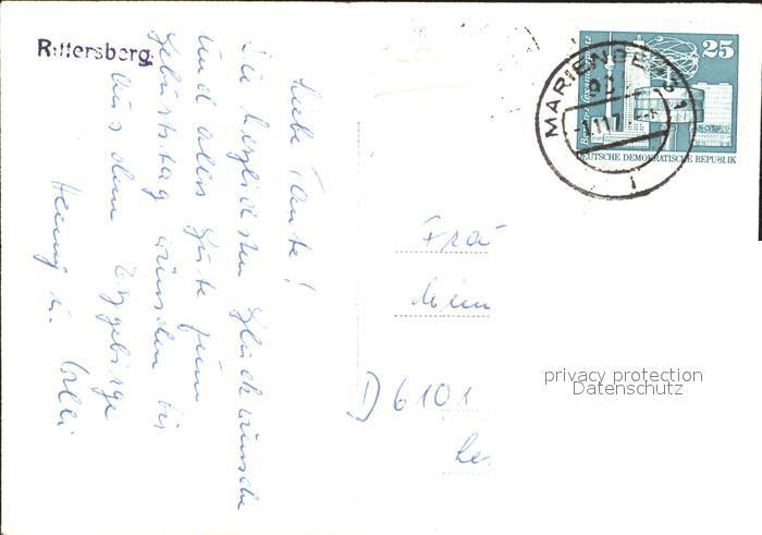 Rittersberg Teilansicht Nr. dp33334 - oldthing: Ansichtskarten ...