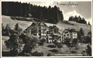 Walzenhausen AR Pension zur frohen Aussicht Kat. Walzenhausen