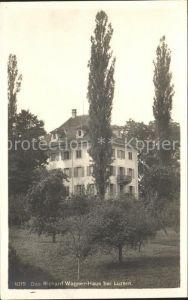 Luzern LU Richard Wagner Haus Kat. Luzern