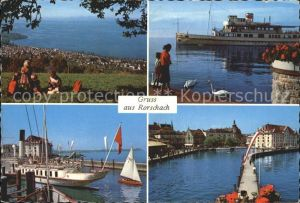 Rorschach Bodensee Hafen  Kat. Rorschach