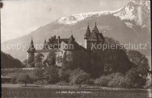 Aigle VD Le Chateau Kat. Aigle