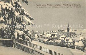 Altenberg Erzgebirge Teilansicht Kat. Geising