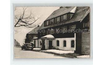 Altenberg Erzgebirge HO Hotel Stadt Dresden Kat. Geising