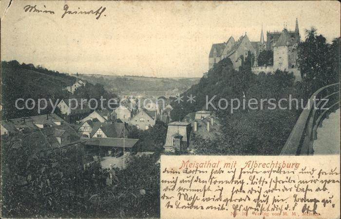Meisatal Meissen mit Albrechtsburg