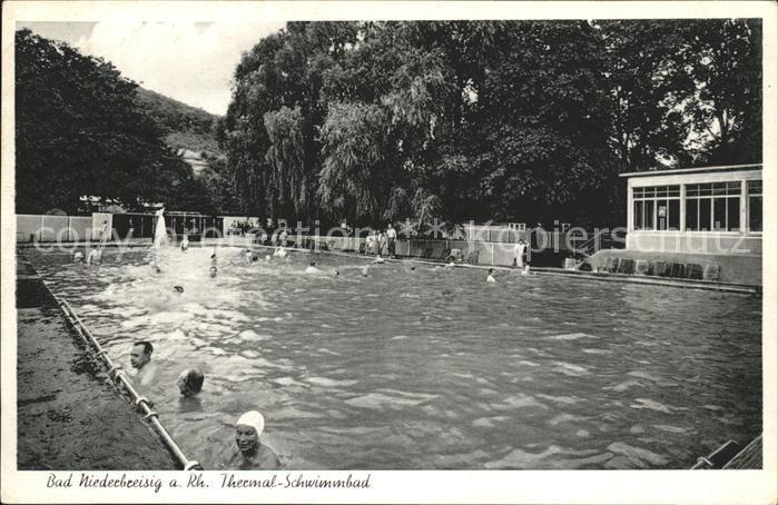 Bad Niederbreisig Thermalschwimmbad Kat. Bad Breisig