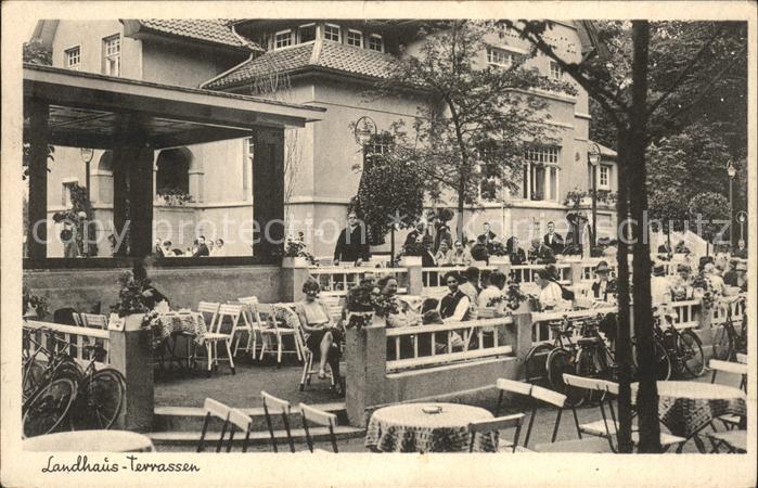 Eilenriede Landhaus Terrassen Restaurant Cafe