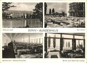 Bonn Rhein Bundeshaus Rhein Terrasse Restaurant / Bonn /Bonn Stadtkreis