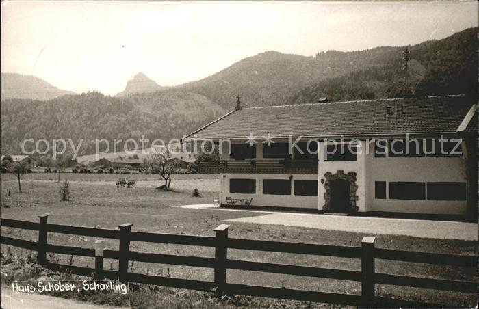 Scharling Fremdenheim Schober Kat. Dorf Kreuth
