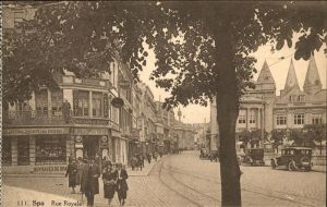Spa Rue Royale Kat.