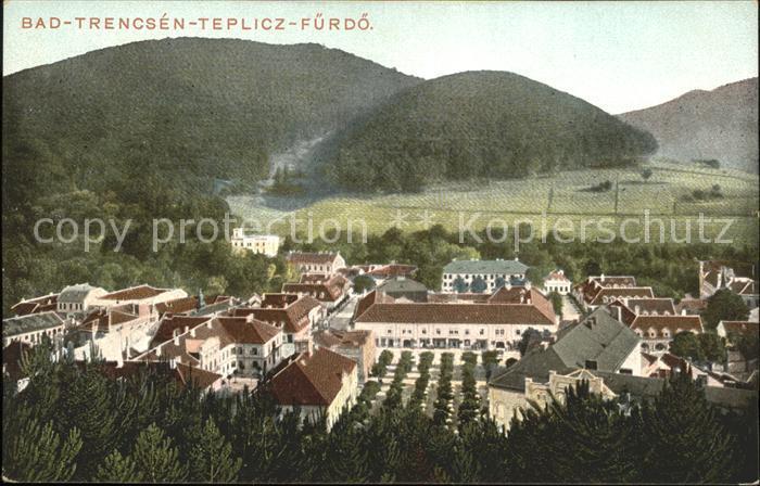 Trencianske Teplice Bad-Trencsen-Teplicz-Fuerdoe / Trencianske Teplice /Trencin