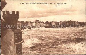 Rochebonne Parame La Plage par grosse mer
