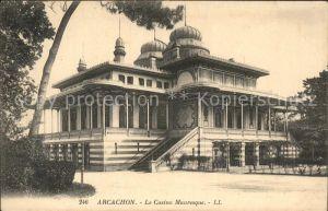 Arcachon Gironde Casino Mauresque Kat. Arcachon