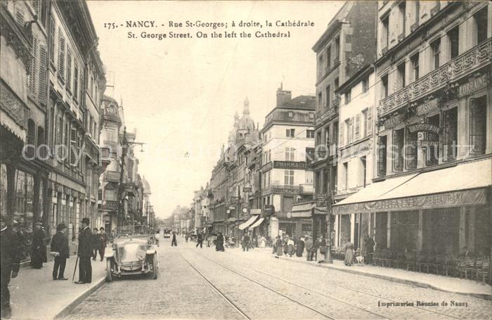 Nancy Lothringen Rue Saint Georges Cathedrale / Nancy /Arrond. de Nancy