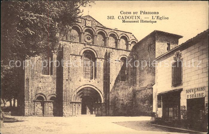 Cadouin Eglise Monument Historique