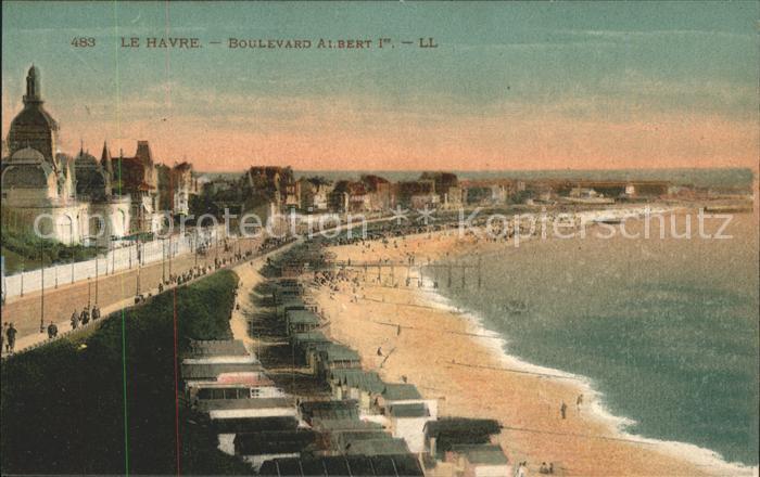 Le Havre Boulevard Albert Kat. Le Havre